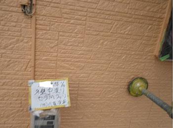 1F外壁 中塗り
