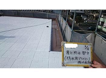 屋上 塗装