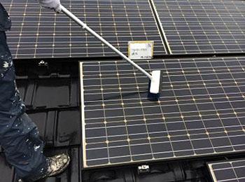 ソーラーパネル 清掃