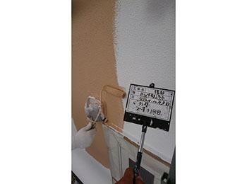 外壁 上塗り1回目